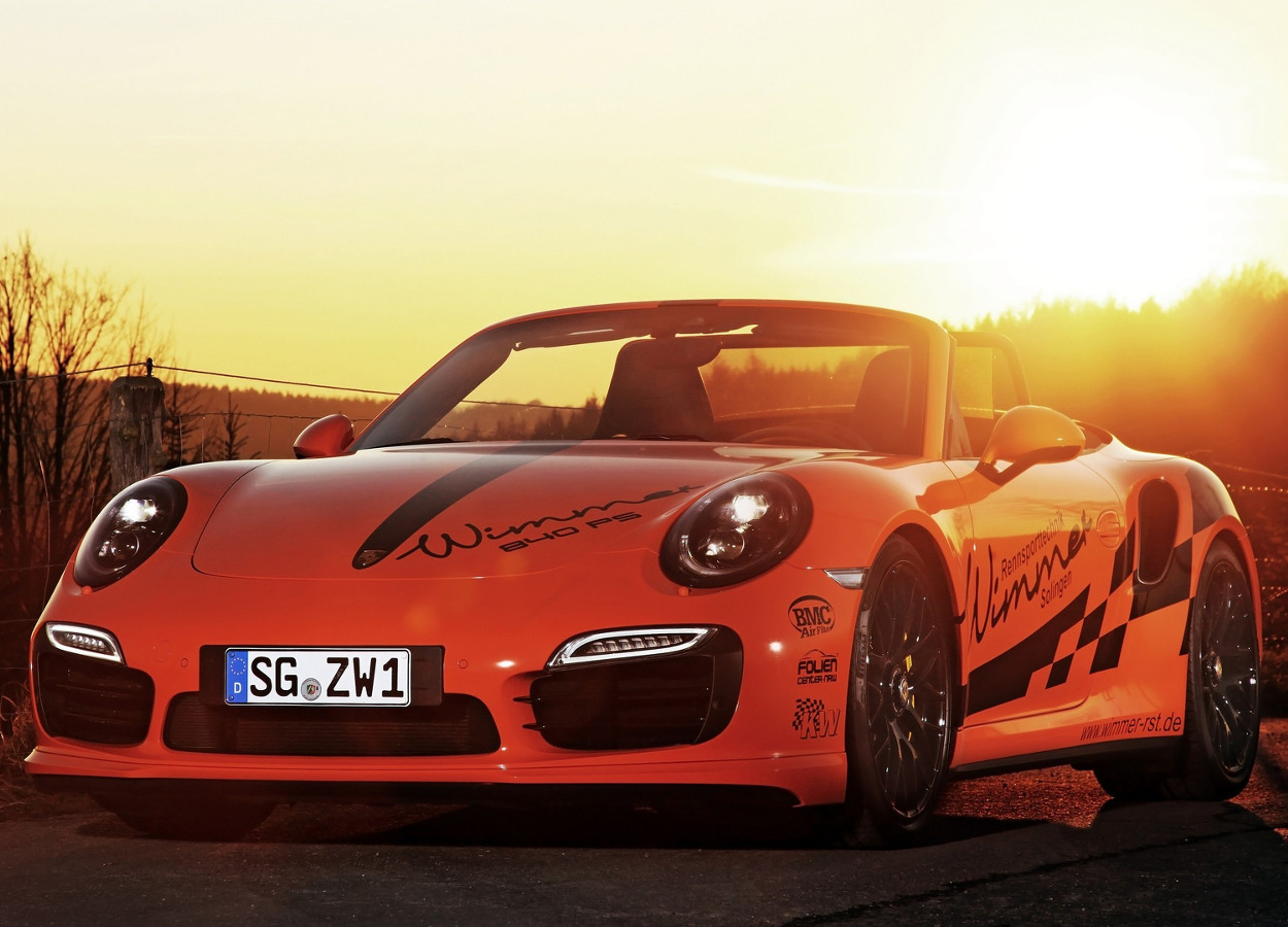 Porsche 911 Turbo S Cabriolet od Wimmer RS