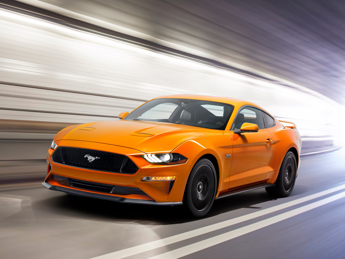 Ford mustang face lifting i 10 biegowa skrzynia w auto motor i sport