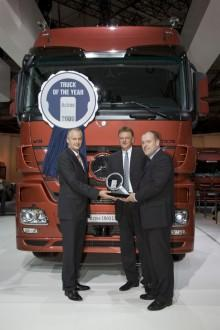 Mercedes Actros - International Truck of the Year 2009