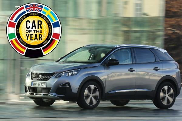 Peugeot 3008 - European Car of the Year 2017