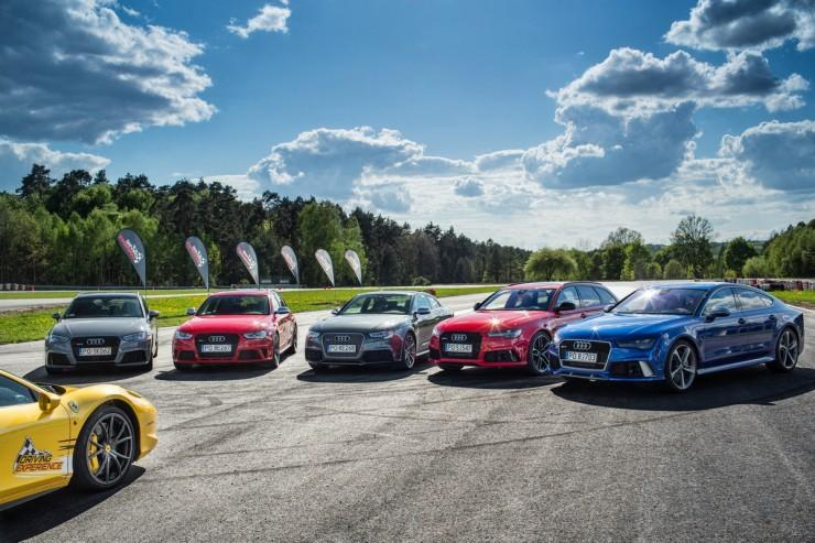 Audi RS family