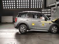 Mini Countryman - test Euro NCAP