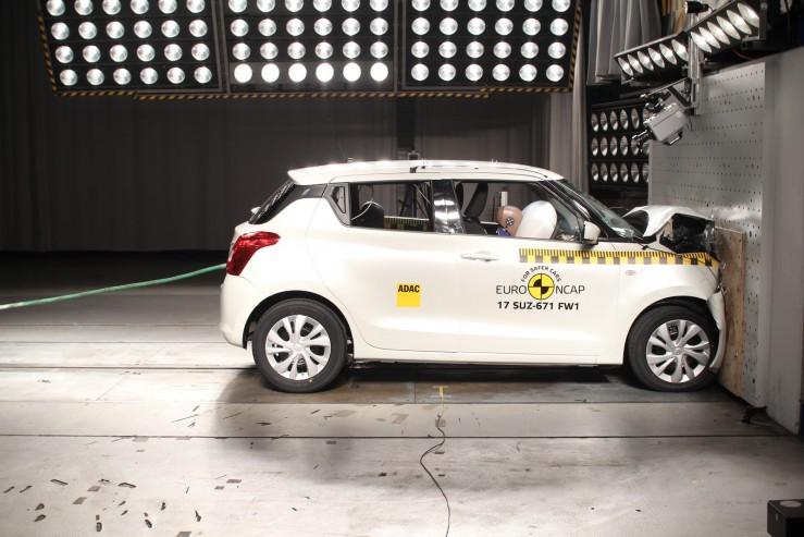 Suzuki Swift - test Euro NCAP