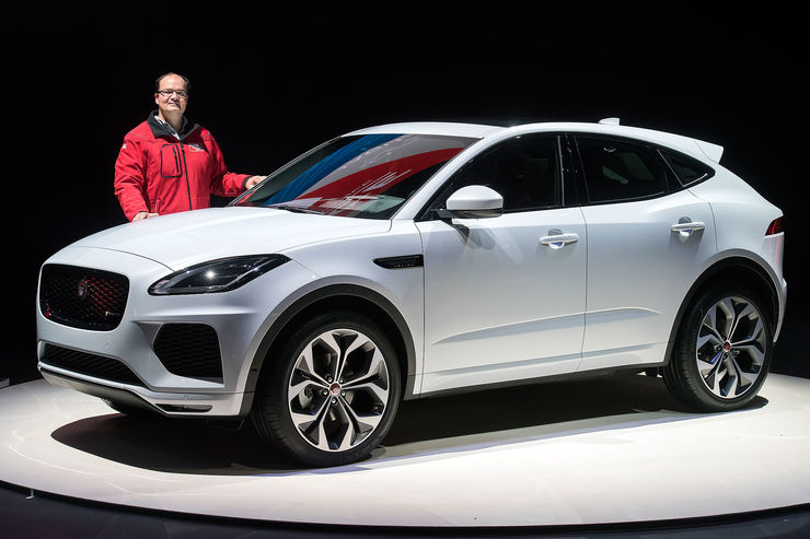 jaguar e pace pierwsze wra enie w auto motor i sport. Black Bedroom Furniture Sets. Home Design Ideas
