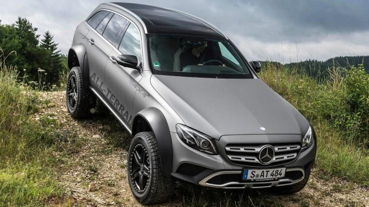 Czy Mercedes E All-Terrain 4x4