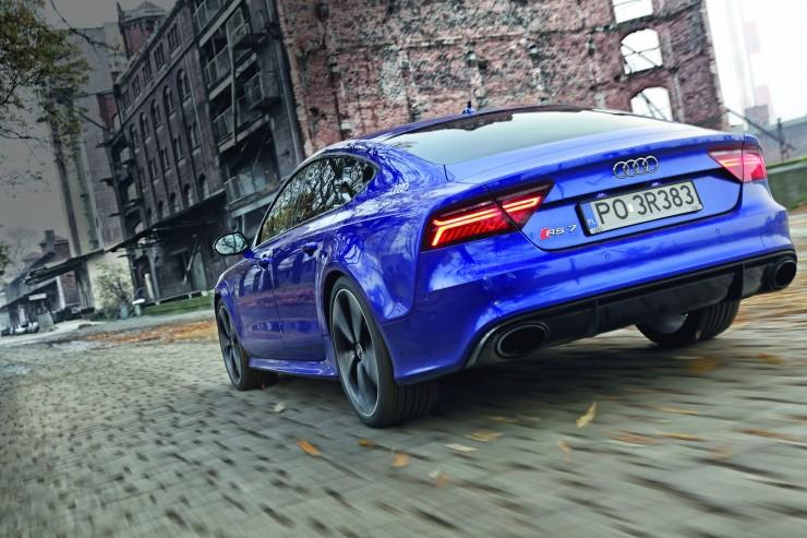 Audi RS 7 performance