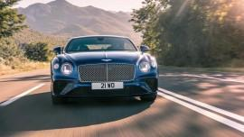 Bentley Continental GT - 333 km/h w luksusie (wideo)