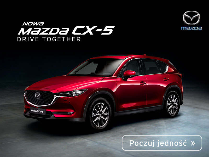 Sky is the limit – Nowa Mazda CX-5 nie zna granic