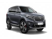 Kia Sorento face lifting