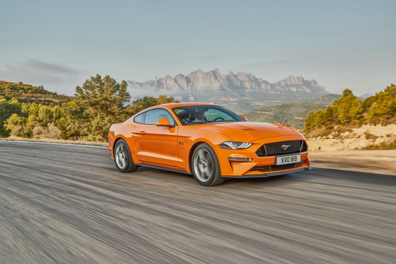 Ford Mustang przeszedł face lifting