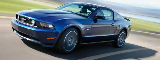 Ford Mustang 2010 – gotowy do walki