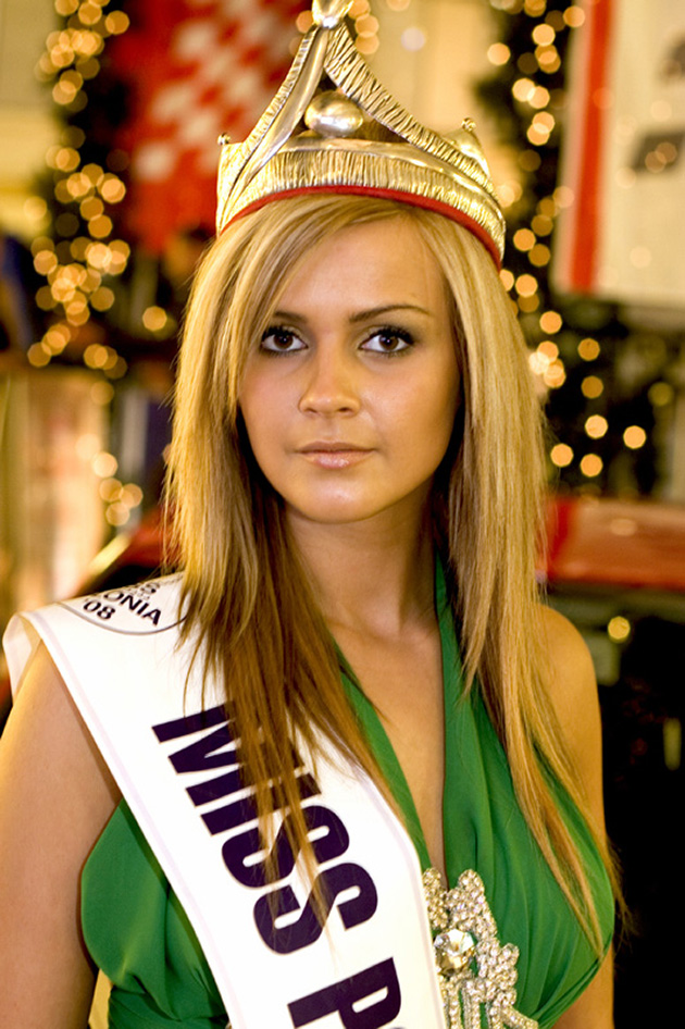 Miss Polonia 2008 i Seat Altea!