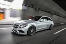 Mercedes C63 VATH - superszybkie kombi
