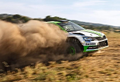 Skoda Fabia R5 - Wkurzony pozytywnie