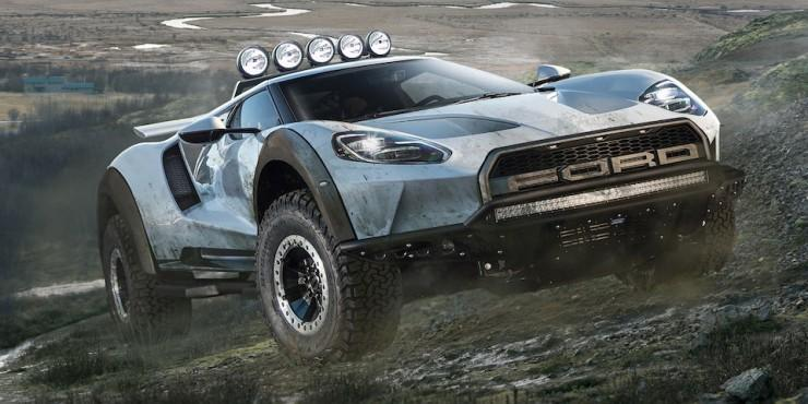 Ford GT и Ford Raptor