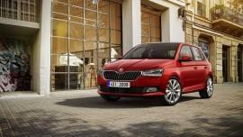 Skoda Fabia face lifting