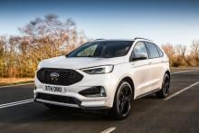 Nowy Ford Edge po face liftingu