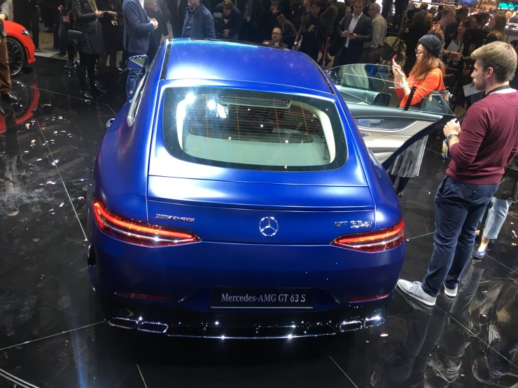 Mercedes-AMG GT 4-Door Coupe (Genewa 2018)