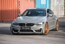 BMW M4 CS G-Power - 600 KM pod maską