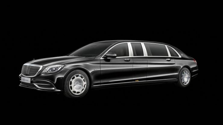 Mercedes-Maybach Pullmann 2018