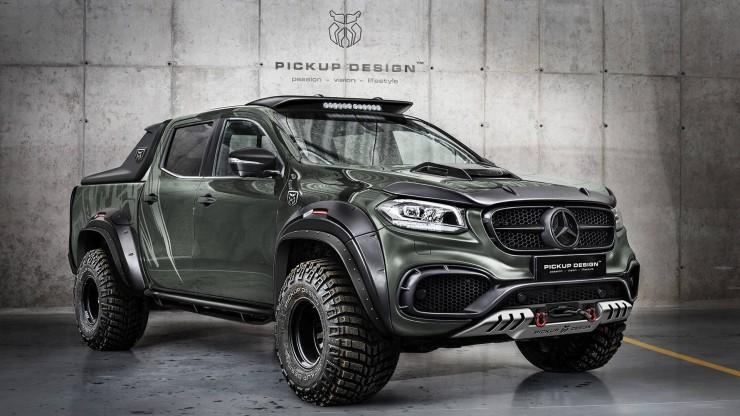 Mercedes Klasy X Off-Road Carlex Design
