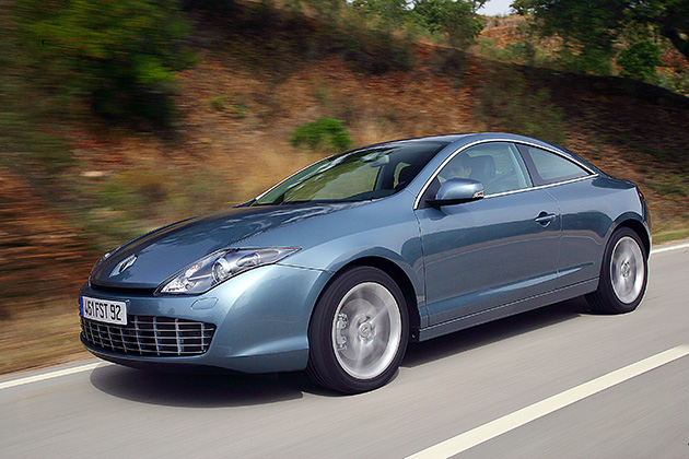 Renault Laguna Coupe - test wideo