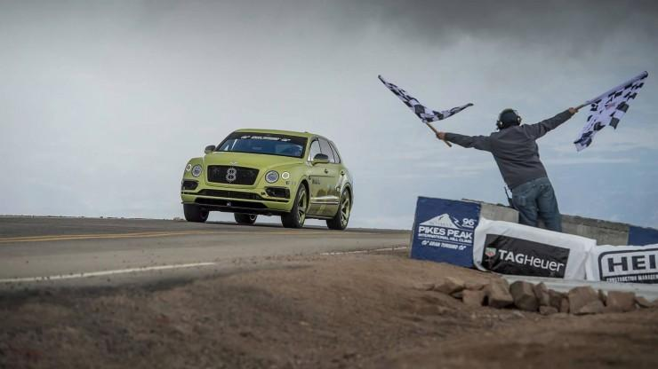 Bentley Bentayga Pikes Peak