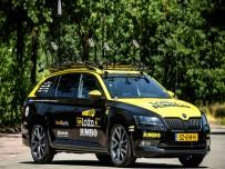 Skoda Superb Sportline na Tour de France