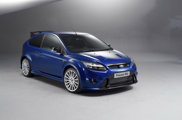 синий автомобиль ford focus rs  № 215611 бесплатно