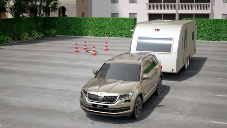 Skoda Trailer Assist
