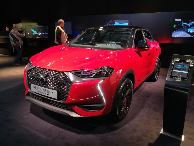 DS 3 Crossback - Paris Motor Show 2018
