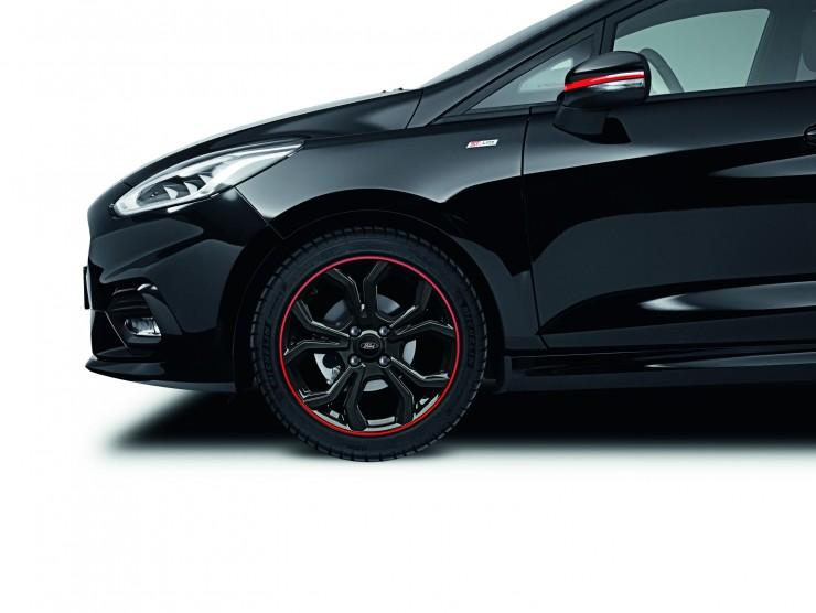 Ford Fiesta Red Edition i Black Edition