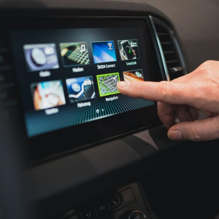 Skoda - historia connectivity