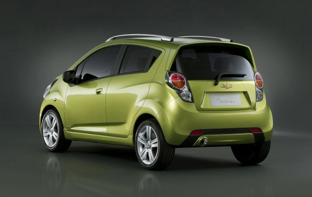 Chevrolet Spark wjeżdża do USA