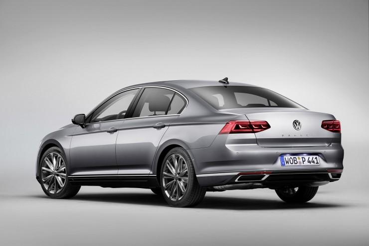 Volkswagen Passat B8 face lifting (2019)