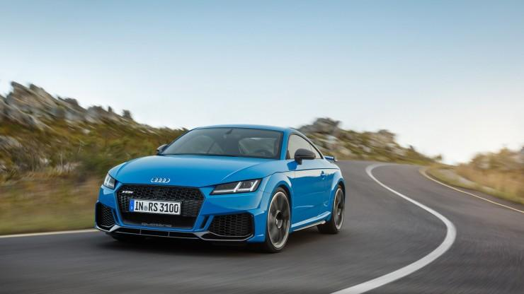 Audi TT RS face lifting 2019