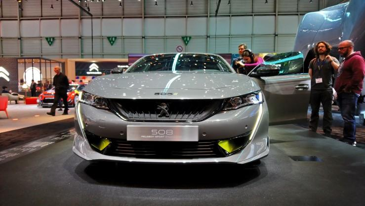 Peugeot 508 Sport Engineered (Genewa 2019)