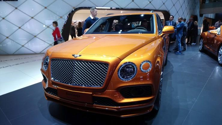 Bentley Bentayga Speed (Genewa 2019)