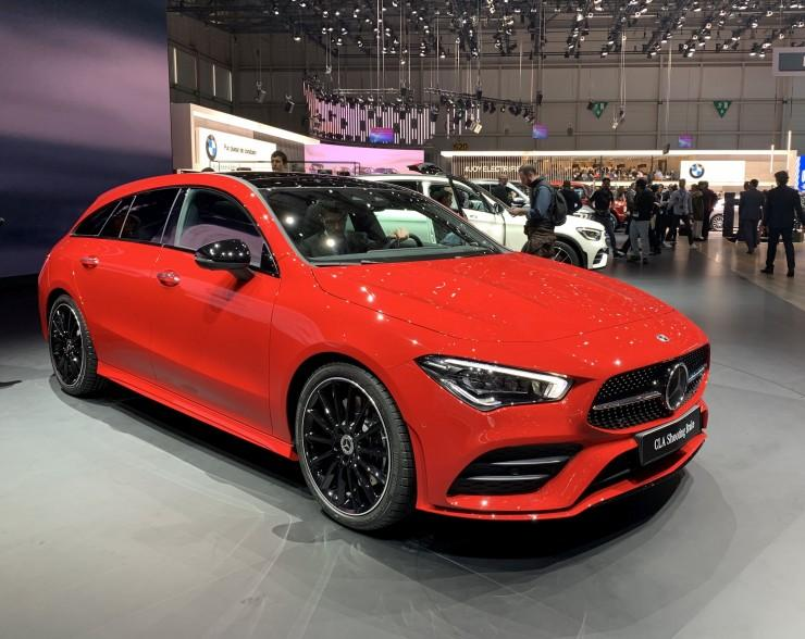 Mercedes CLA Shooting Brake (Genewa 2019)