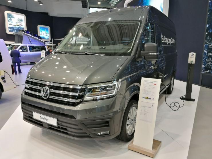 Volkswagen e-Crafter - Poznań Motor Show 2019