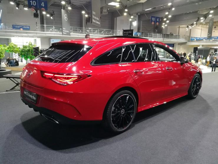 Mercedes CLA Shooting Brake - Poznań Motor Show 2019