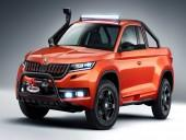 Skoda Mountiaq. Pick-up na bazie Kodiaqa