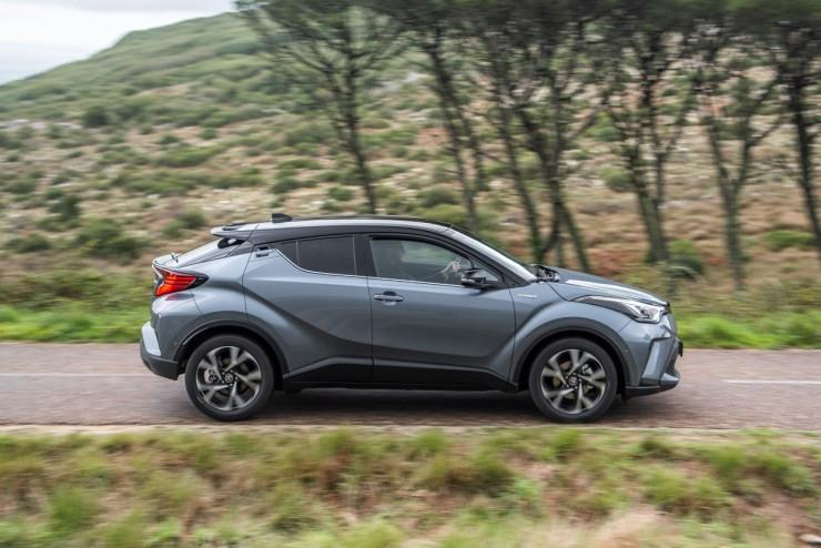 Toyota C-HR facelift 2019
