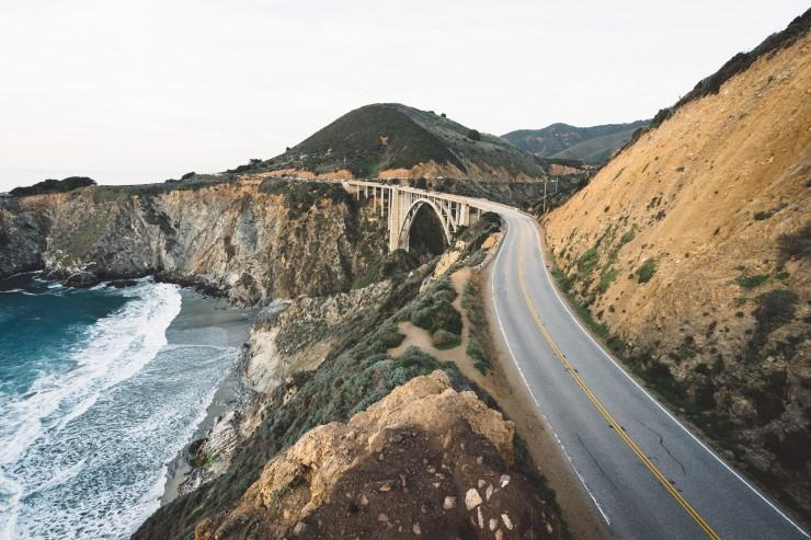 USA, Kalifornia, Highway One