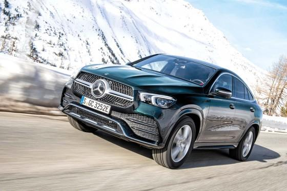 Mercedes GLE Coupé - Waga superciężka