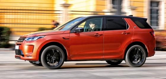 Land Rover Discovery Sport: koncept uniwersalny