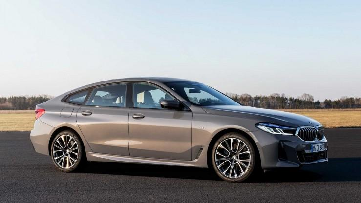 BMW Serii 6 Gran Turismo face lifting 2020