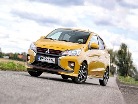 Mitsubishi Space Star: Atrapa hot hatcha - TEST  - motogazeta mojeauto.pl