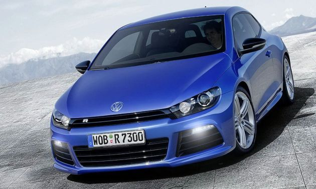 Volkswagen Scirocco R, Golf R - video