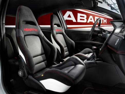 Fotel Abarth Corse by Sabelt